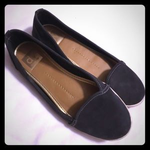 Dolce vita navy blue slip on shoes